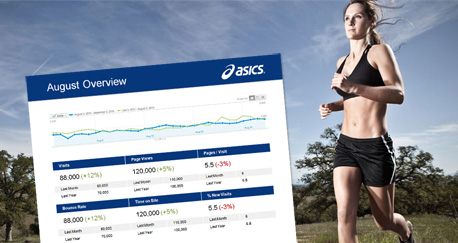 Asics Monthly Digital Report